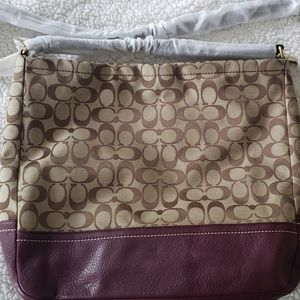 Coach Signature Bag NWOT